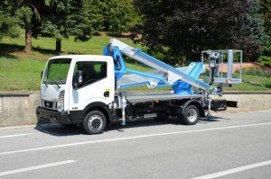 Multitel LKW Arbeitsbühne HX 200 EX
