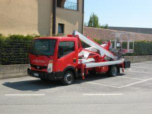 Multitel LKW Arbeitsbühne MX 170