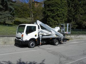 Multitel LKW Arbeitsbühne MX 210