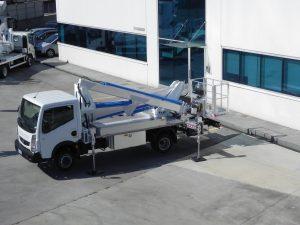 Multitel LKW Arbeitsbühne MX 235
