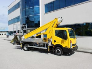 Multitel LKW Arbeitsbühne MT 222 EX