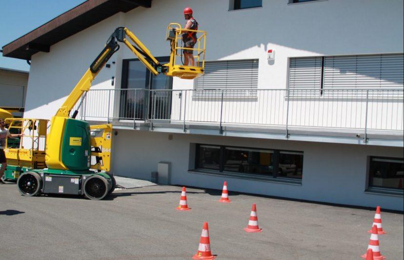 Bedienerschulung Arbeitsbühnen Dorn Lift Vorarlberg