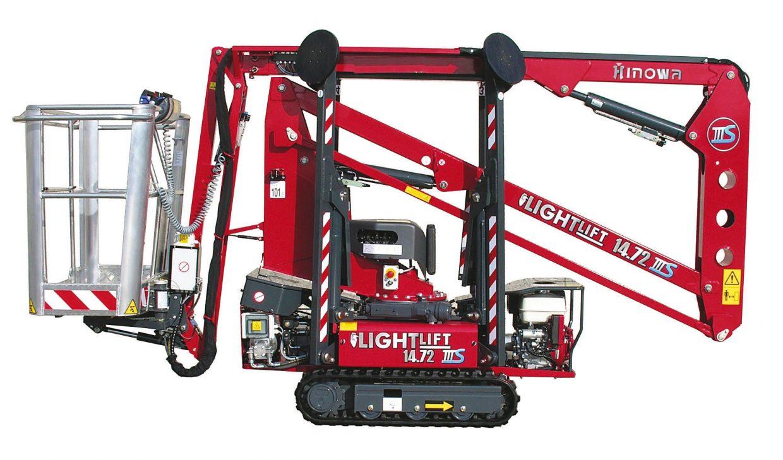 Hinowa Lightlift 14.72 IIIS Raubenarbeitsbühne