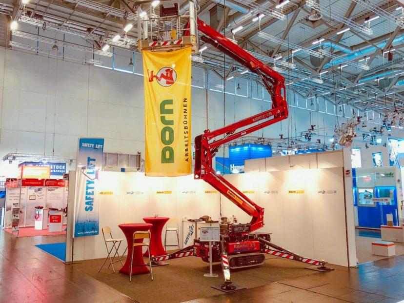 Dorn Lift GmbH auf der Messe Handwerk in Wels, 2019