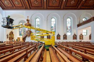 Einsatz Kirche Lauterach