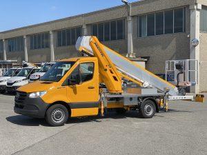 LKW-Arbeitsbühnen MTE 230 EX